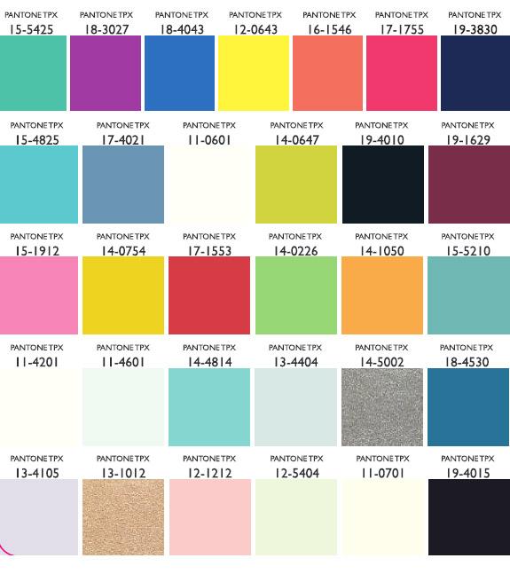 2017 ss fashion forecast - Lenzing Spring Summer 2011 Color Palettes Amp Usage For