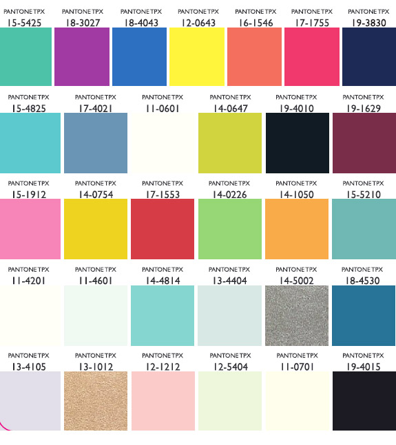 41d869b08a60ea Spring Summer 2011 – Color Palette for Women s Wear. Courtesy- Lenzing