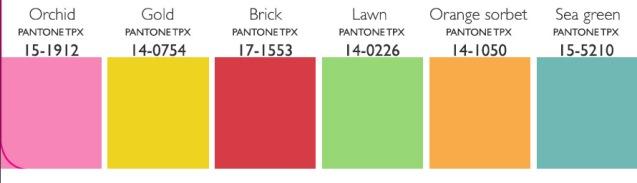 Lenzing New Classic Color Palette