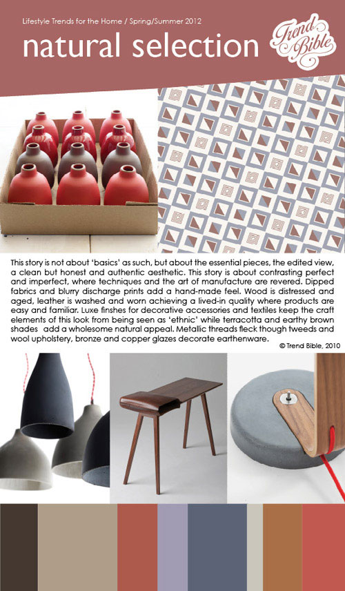 Home Trends: Spring/Summer 2012 by Trend Bible