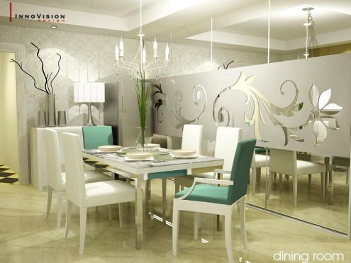 Dining Room on High Style  Dining Rooms   Nidhi Saxena S Blog About Patterns  Colors