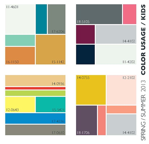 Lenzing Trends Spring/Summer 2013- Color Usage | Nidhi Saxena's blog