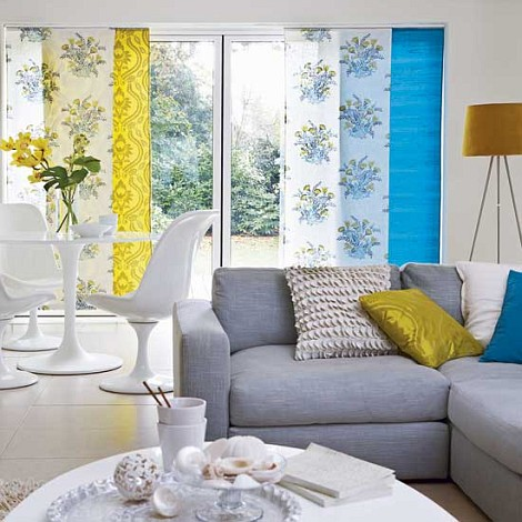 Home Décor In Blue And Yellow Nidhi Saxenas Blog About Patterns - Blue and yellow home decor