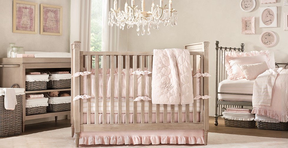 Pink Baby Girl Nursery Ideas
