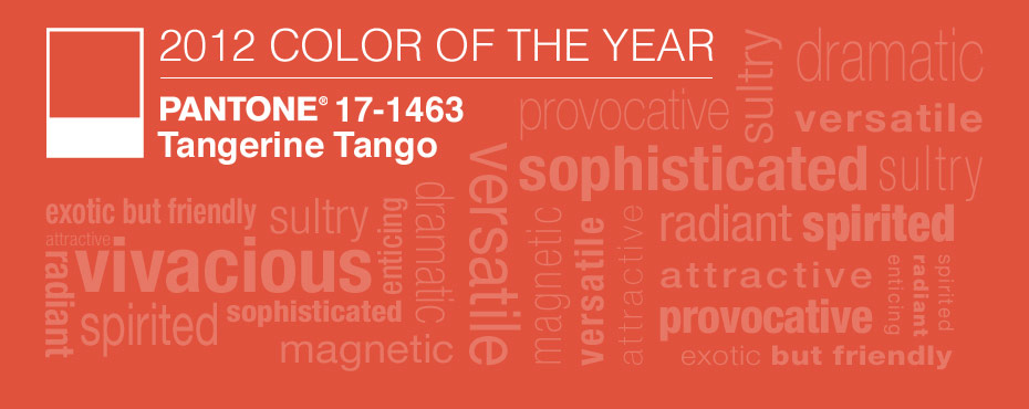 Pantone Color Of The Year 2012 tangerine tango | nidhi saxena's blog about patterns, colors and