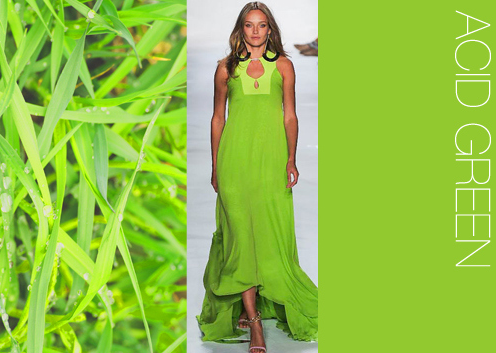 Have Fashion Colors in Women's Wear for Spring/Summer 2014 by Trend