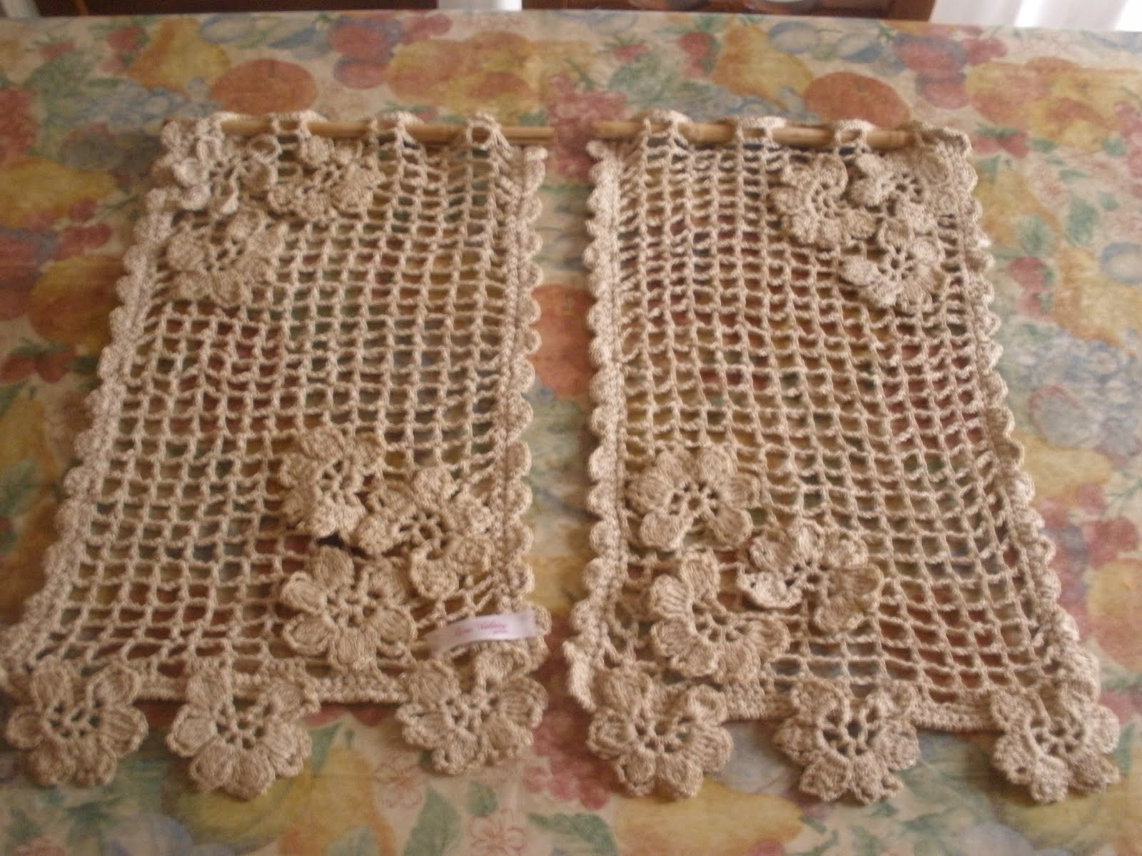 Tejidos a crochet ganchillo patrones cortina para share the knownledge - Cortinas a ganchillo patrones ...