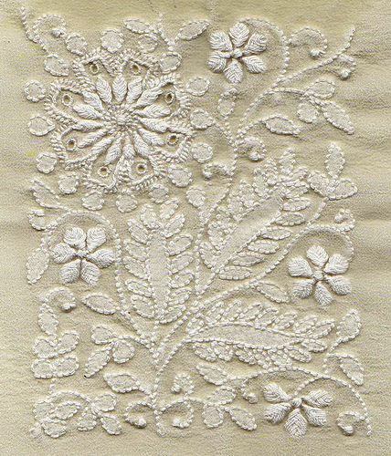 Chikankari Hand Embroidery From India  Nidhi Saxena39s