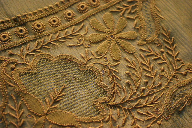 Chikankari Hand Embroidery From India Nidhi Saxenas Blog About
