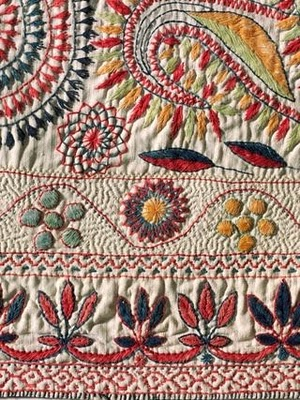 Kantha Traditional Embroidery From India Nidhi Saxenas Blog