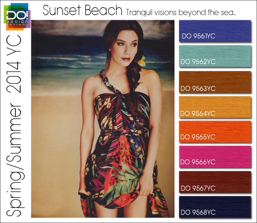 SS 14 YC 6 SUNSET BEACH w color