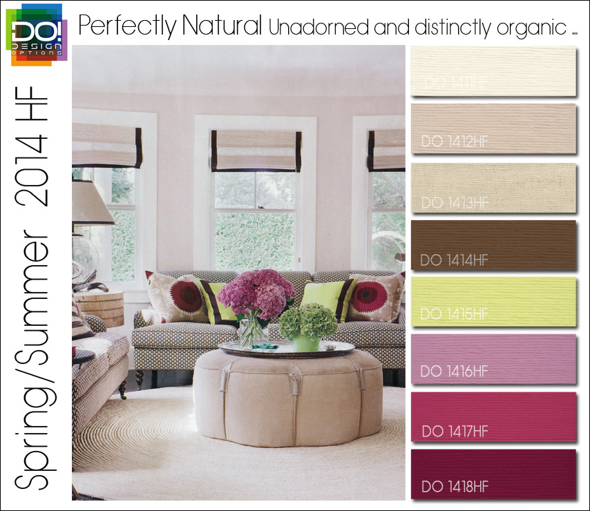 Spring Summer 2014 Color Trends for Home Fashion by Design Options ...