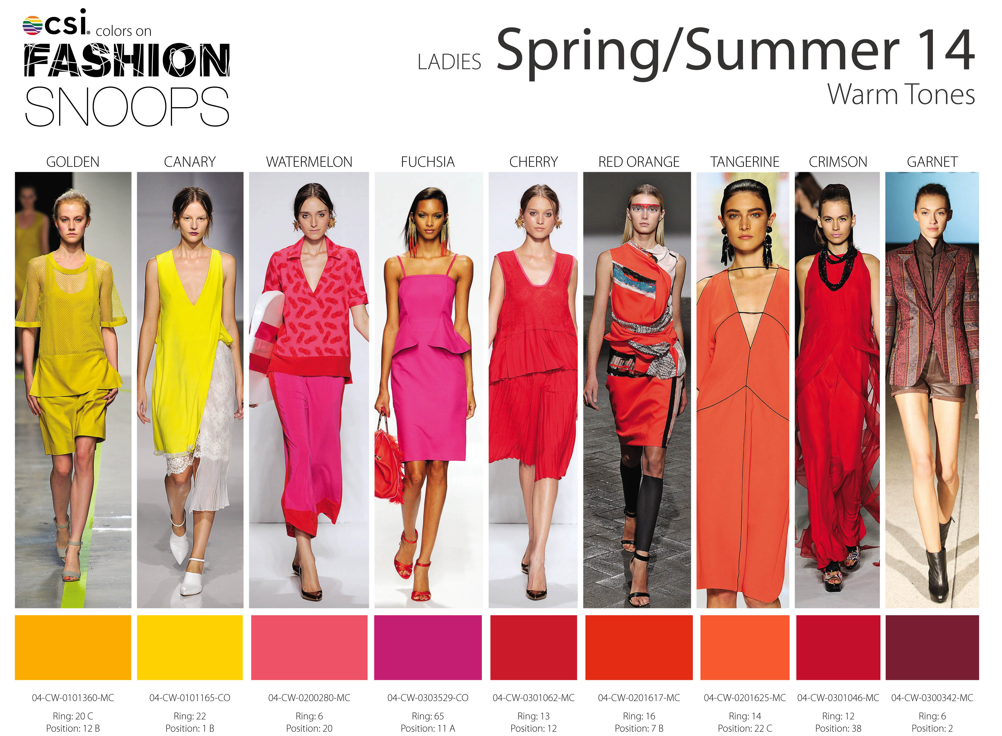 Fashion Colors Spring Summer