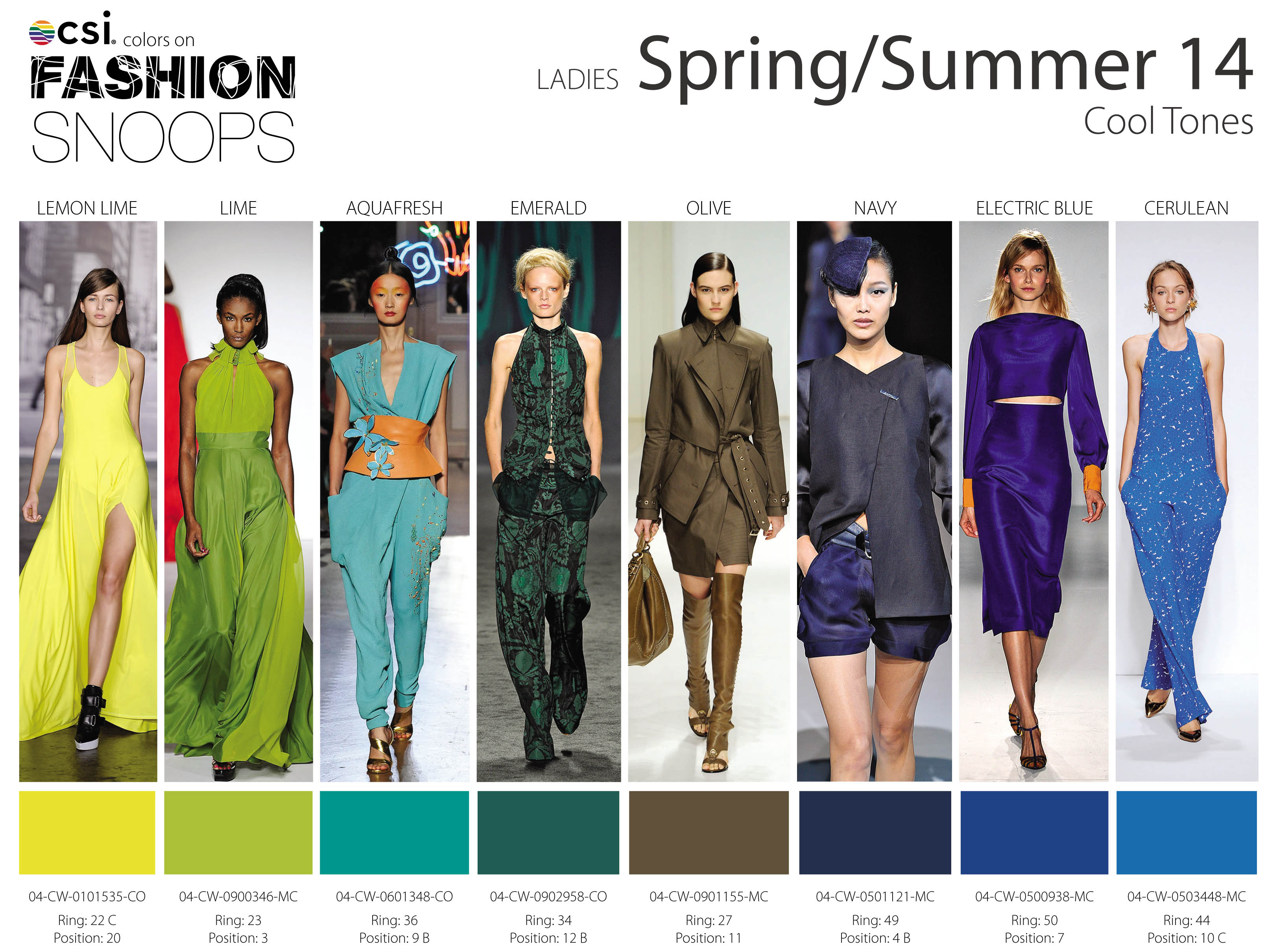 Summer foto fashion color trends