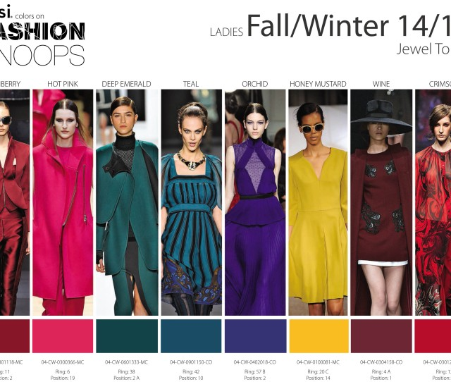 2015 Winter Fashion Colors