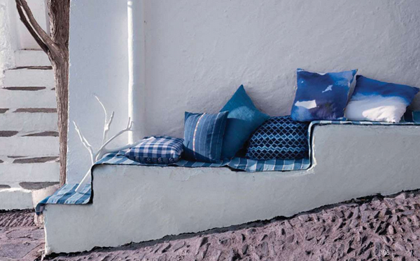 home d cor in indigo nidhi saxena 39 s blog about patterns