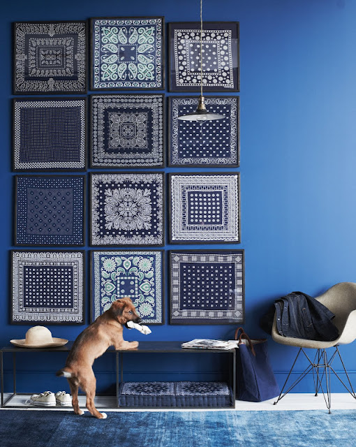 home d cor in indigo nidhi saxena 39 s blog about patterns. Black Bedroom Furniture Sets. Home Design Ideas