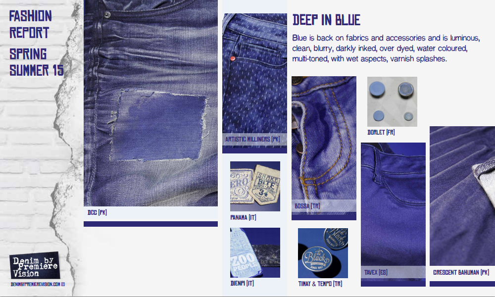 Denim Trends for Spring/Summer 2015 by Premiere Vision | Nidhi Saxena ...