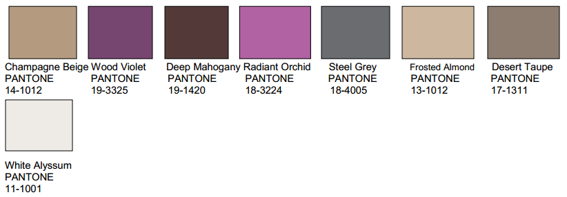 Pantone Color Forecast Nidhi Saxena 39 S Blog About
